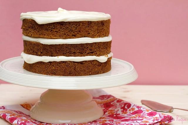Sky High Carrot cake