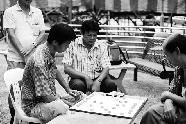 Playing Chinese Chess at the Void Deck