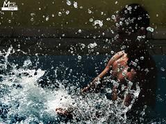 H2O (JAM Farhat photos -Jamile, Amanda e Marcelo) Tags: water água happy joke h2o caraguatatuba