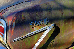 "Urban Legend: these cars wouldn't sell in South America because No va means ""It will not go"" in Spanish. In this case... it seems to be true. (StGrundy) Tags: auto old usa white classic chevrolet abandoned broken nova rural vintage georgia logo junk nikon rust classiccar vintagecar automobile unitedstates antique decay south rusty automotive voiture southern faded chevy rusted rps junkyard scrapyard southeast oldcar salvage hdr highdynamicrange decayed bartowcounty crumbling deepsouth urbanlegend cargraveyard oldcarcity 3xp photomatix wreckingyard tonemapped d80 roswellphotographicsociety cementeriodecoches cemitriodeautomveis cimetiredevoitures stgrundy cimiterodiautomobile frps040211 lewisworldofparts"