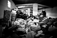 attic mess
