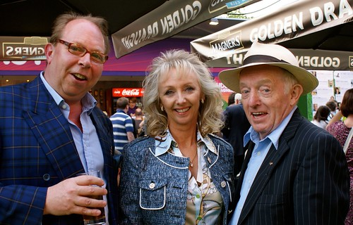Chris Davis, Debbie McGee, Paul Daniels