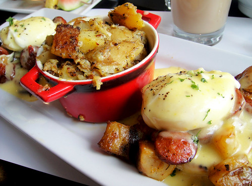 Eggs Benedict with Chorizo