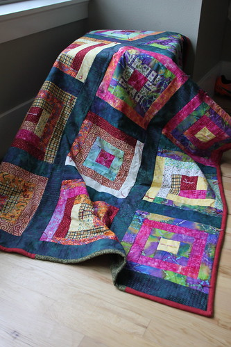 Last three quilts that went into the shipping boxes