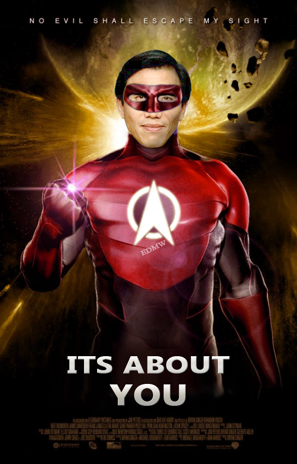 CHEE SOON JUAN as the Flash