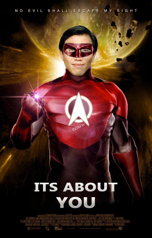 Chee Soon Juan as the Flash