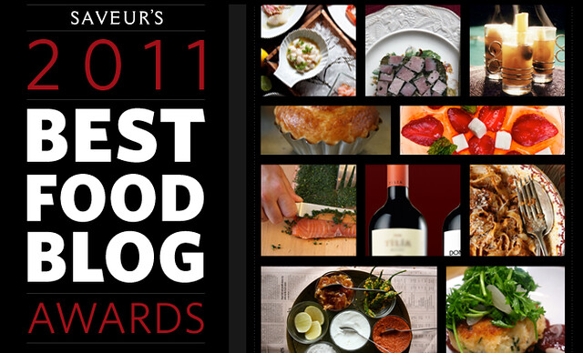 Saveur Food Blog Awards