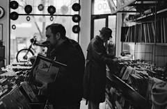 Mark Almond 73 (Fogel's Focus) Tags: 50mm store day minolta band record neopan400 rodinal rsd 20c 125 x700 f17 2011 4001600 minoltamd 10min markalmond secondhandtunes