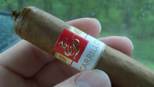 @EPCarrillo New Wave on the drive to Cigarfest. Gave one to @KnightRid, looking forward to his thoughts.