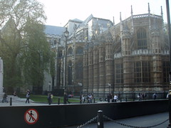 Backside of Westminster Abbey (a3rynsun) Tags: london church westminster abbey westminsterabbey