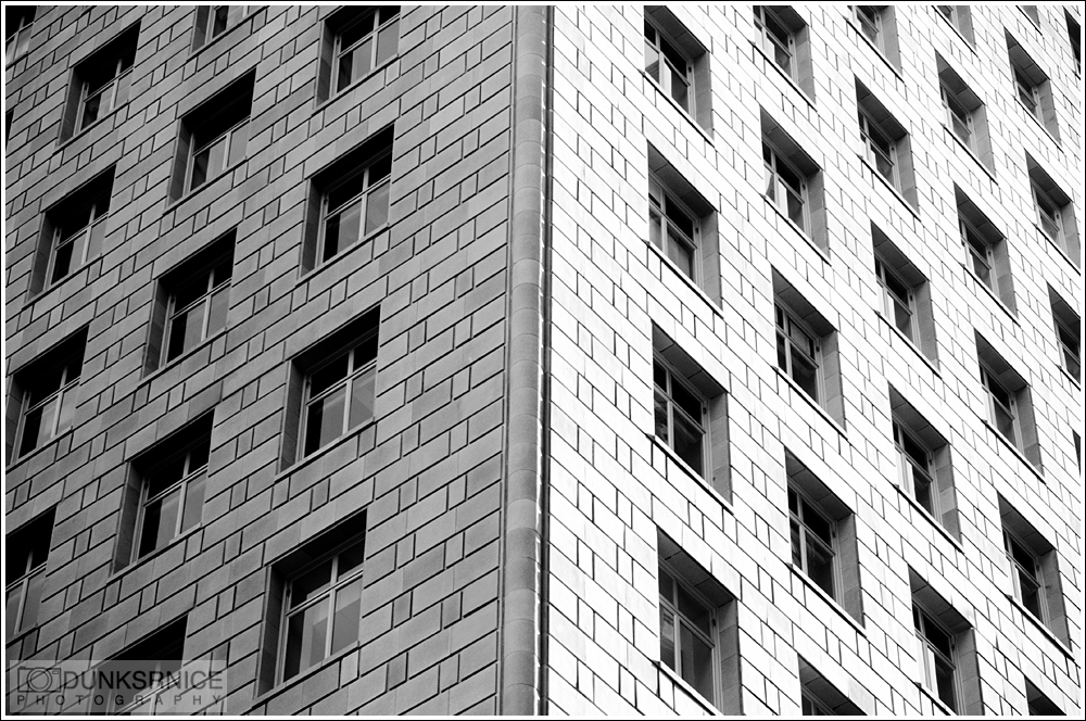 Two sides B&W.