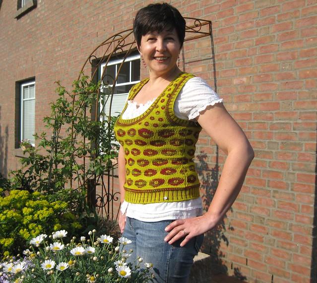 Poppy vest