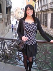 Venice (Starrynowhere) Tags: public outdoors emma tgirl transvestite transgendered crossdresser starrynowhere
