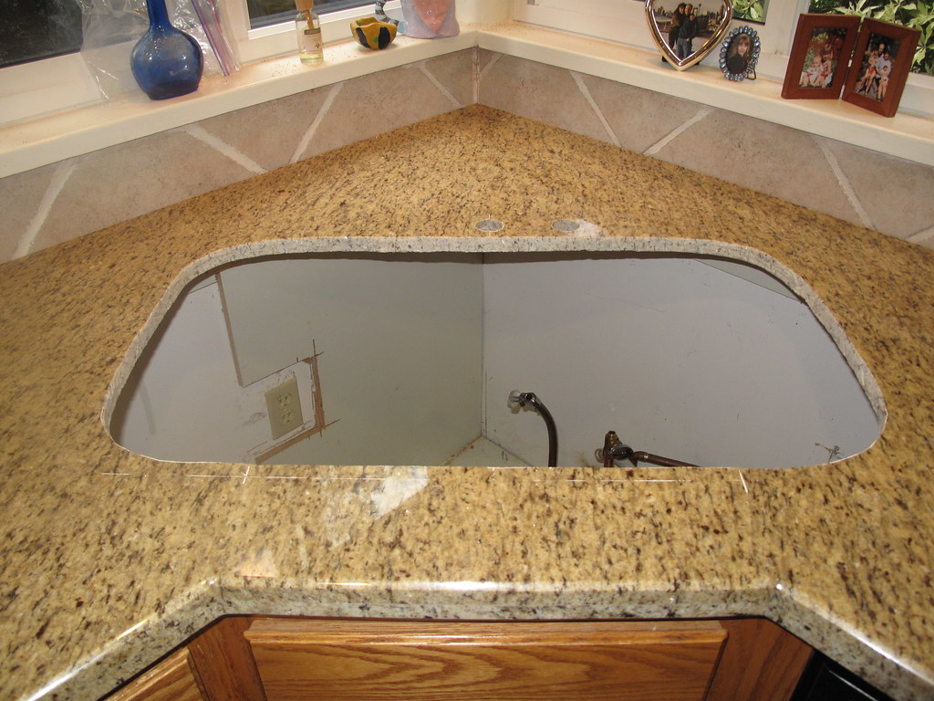 Granite counter top reclamation and recycling