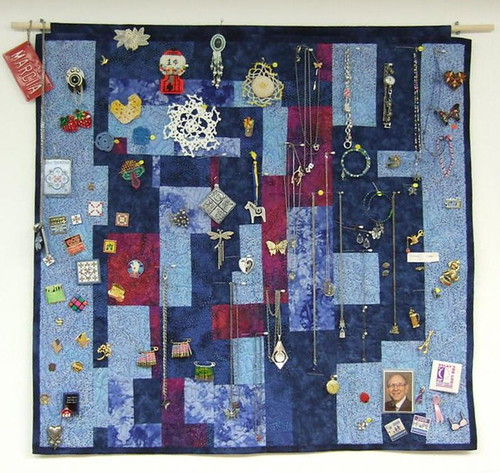 """Marcia's Tiny Treasures Quilt'"