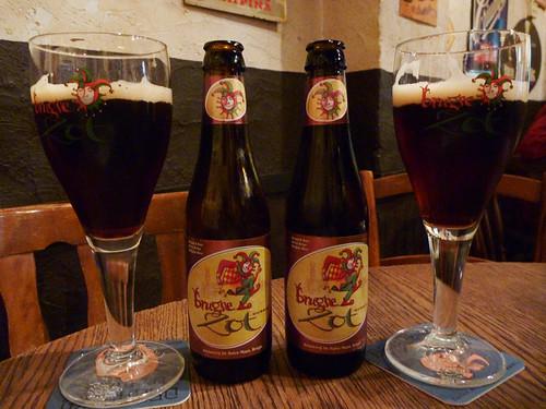 Bruges Zup dubbels at 't Brugs Beertje
