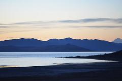 Salt Lake Sunset Blues (Karen McQuilkin) Tags: blue sunset mountains utah saltlake awardtree sunsetblues karenandmc