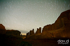 star-trails-on-digital-sensors-5 (dav.d) Tags: park night stars arches national moab startrails