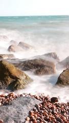 ND Filter (sven_ali) Tags: longexposure sea beach waves folkestone ndfilter