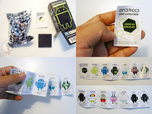 The Android Mini Series 2 boxes  & flyers