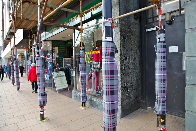 Tartan scaffolding