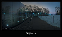 Reflections Vietnam Memorial Washington DC (Sean Raymond Photography aka ShutterKrazy) Tags: holiday monument dedication shop wall america photoshop reflecting us photo dc washington nikon memorial war day view maya jan unique district united ying ps columbia vietnam national fallen tribute states remembrance lin veteran holliday heros scruggs 2011 d90