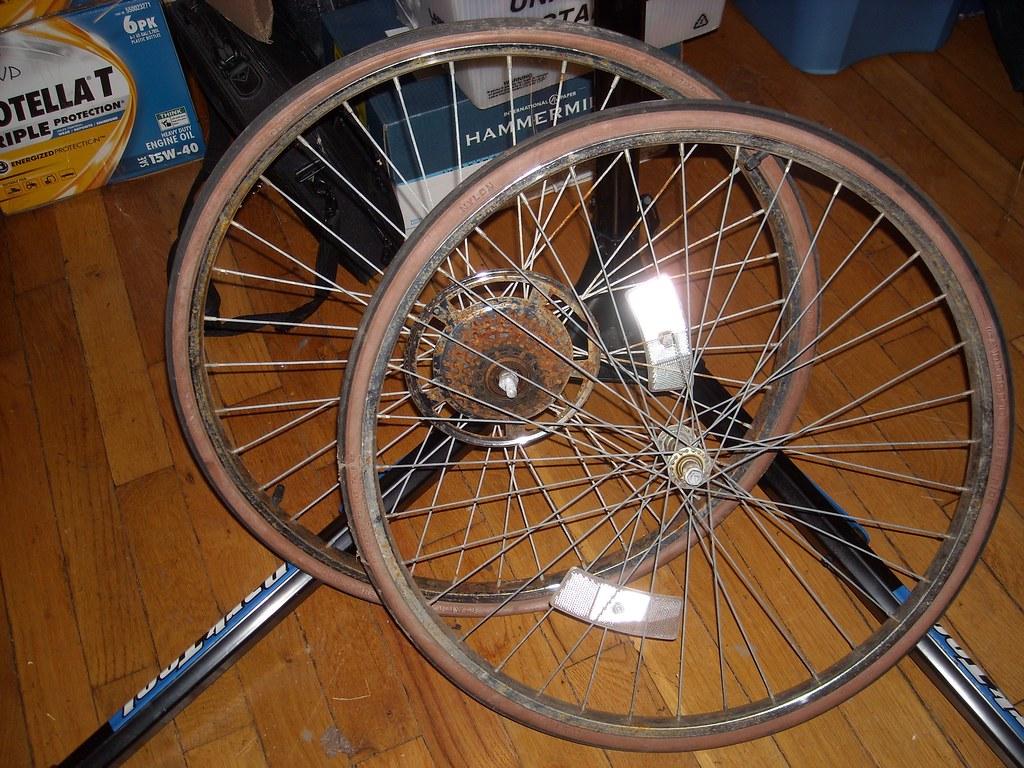 "26x 1 3/8"" wheels"