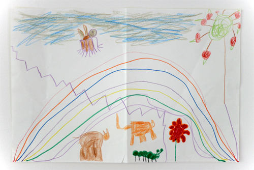 5¾ year old :: drawing