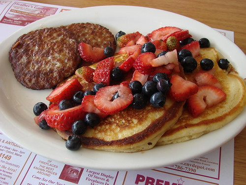 Memorial Day Pancake Special Close Up