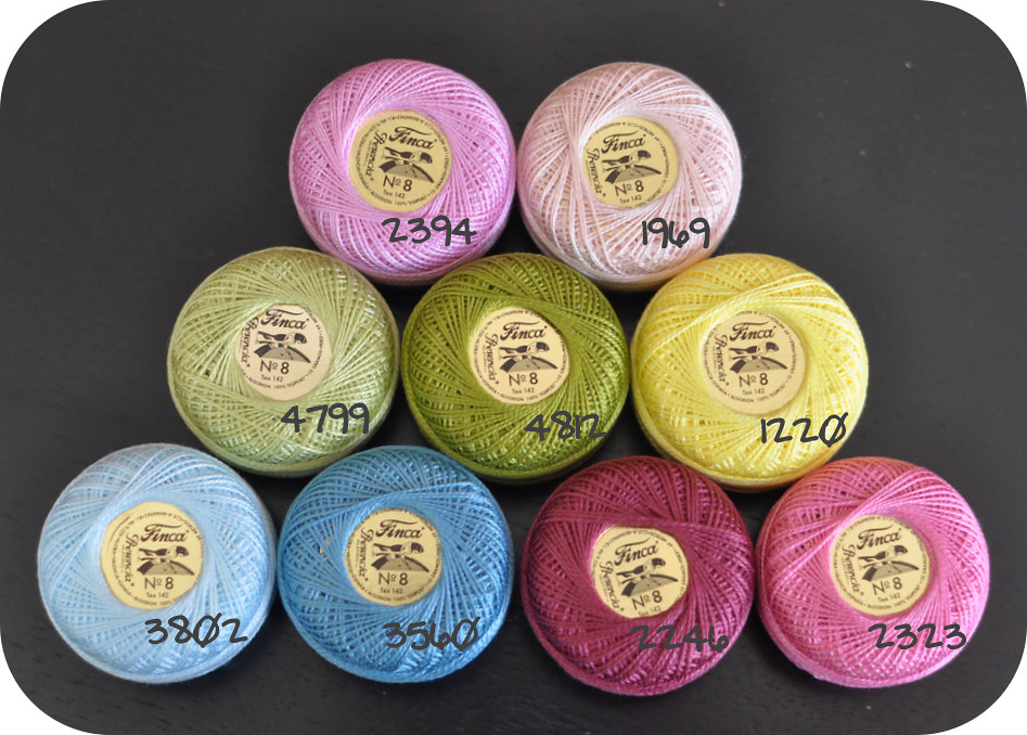 Thread Color Numbers