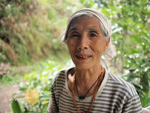 The ageless Lola Anna from Batad