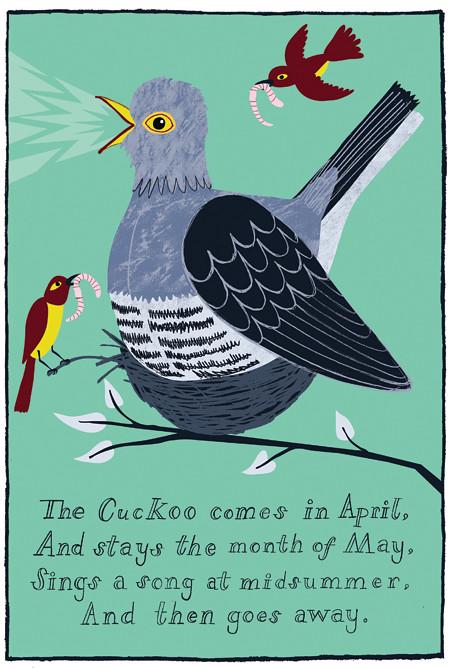 Cuckoo!  Cuckoo!  Cuckoo! by ardillustration