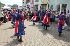Wessex Folk Festival 2011 - Whitethorn Morris (dorsetbays) Tags: england music festival dance folk live dorset morris weymouth wessex trinitystreet oldharbour 2011 wessexfolkfestival whitethornmorris weymouthfolkfestival