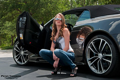 Aston Martin DBS (Peter Tromboni Photography) Tags: sexy girl photography james nikon photoshoot martin modeling convertible peter bond british aston 007 volante supercars dbs v12 tromboni aowheels