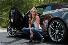 Aston Martin DBS (Peter Tromboni Photography) Tags: sexy girl photography james nikon photoshoot martin modeling convertible peter bond british aston 007 volante supercars dbs v12 tromboni aowheels