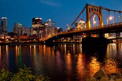 Pittsburgh after Dark (StevenSmith1) Tags: exposure allegheny riverreflections herowinner ultraherowinner thepinnaclehof storybookwinner storybookttwwinner tphofweek101 pittsburgsteel citynightslong