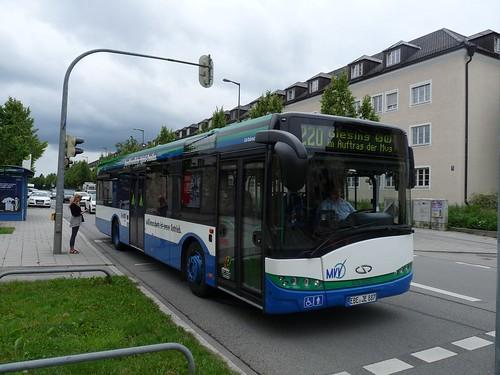 Solaris Urbino 12 vom Ettenhuber an der Soyerhofstraße