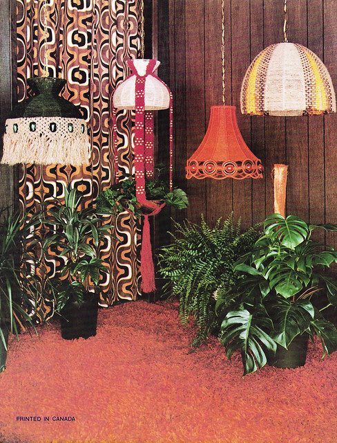 Carol-Anne June Diana Tara Bright Ideas For Lamp Frames 70s