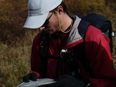 Sam, reading the map (samhDOTnet) Tags: montana backpacking ultralight wilderness beartooth absaroka backpackinglight ultralightbackpacking