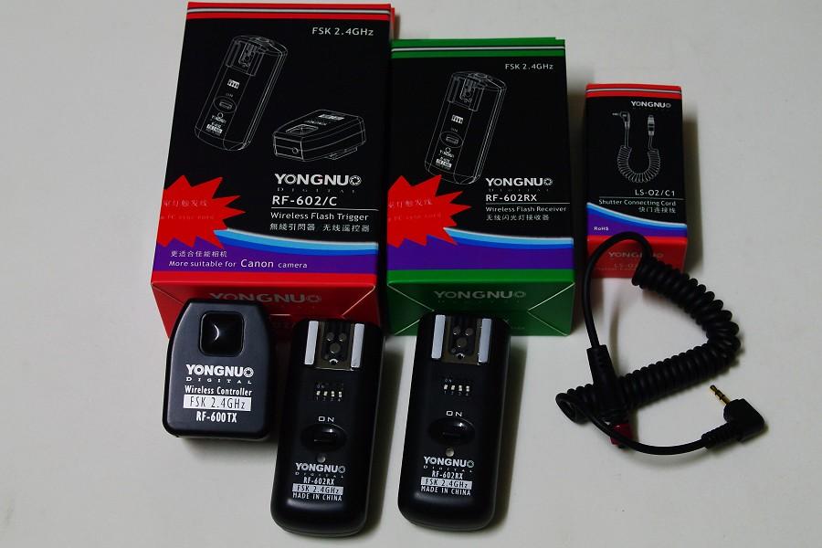 永諾YN560與RF602開箱文