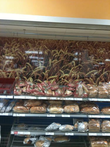faux wheat in Tesco by sashinka-uk