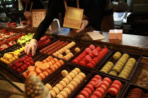 Laduree Macaron Display