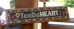 tenda 2 (beaded glass) Tags: sign plaque mosaic