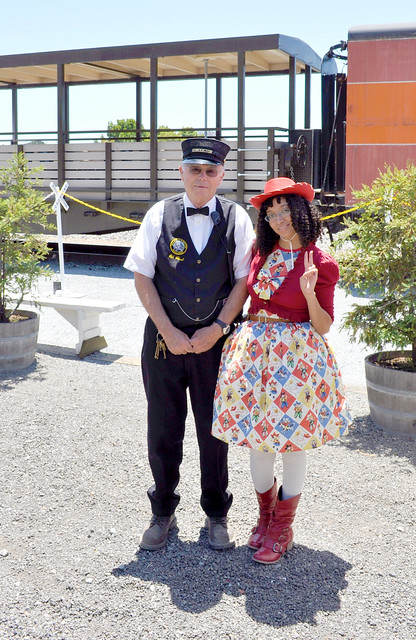 Alegra and conductor guy