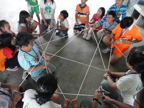 透過活動, 孩子學習生物網的知識, 以及物種的重要性