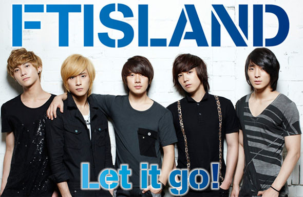 "F.T. Island reveals their Japanese music video for ""Let It Go""!"
