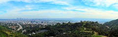 Edited:The view of Los Angeles from Mulholland Drive