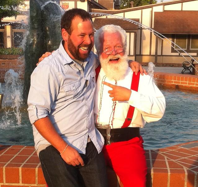Bert and Santa