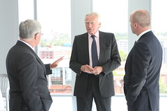 Sir Michael Lyons, Lord Heseltine and Darran L...