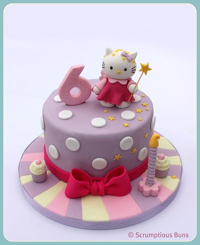 Hello Kitty Birthday Cake by Scrumptious Buns (Samantha)